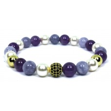 Mixed CZ Beaded Bracelet