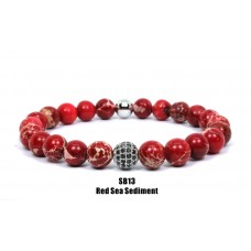 CZ Ball Beaded Bracelet