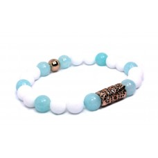 The Regal - Amazonite/White Jade