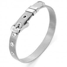 Classic 316L Stainless Steel Wristband Bracelet
