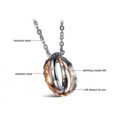 Couple Necklaces - I Will Always Be You (BSON0270)