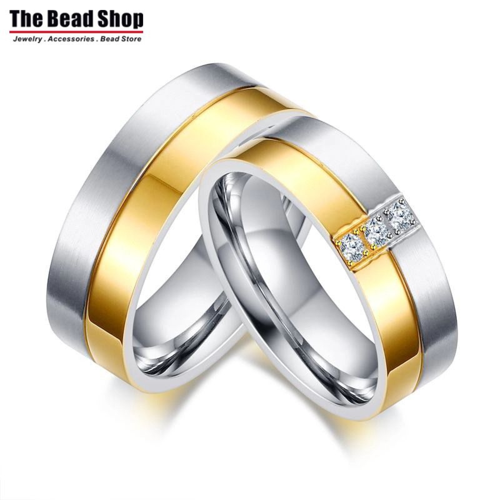 best for personalized pin steel titanium elegant bands or wedding couple simple bu her rings matching on him ring couples gifts engagement yoyoon promise