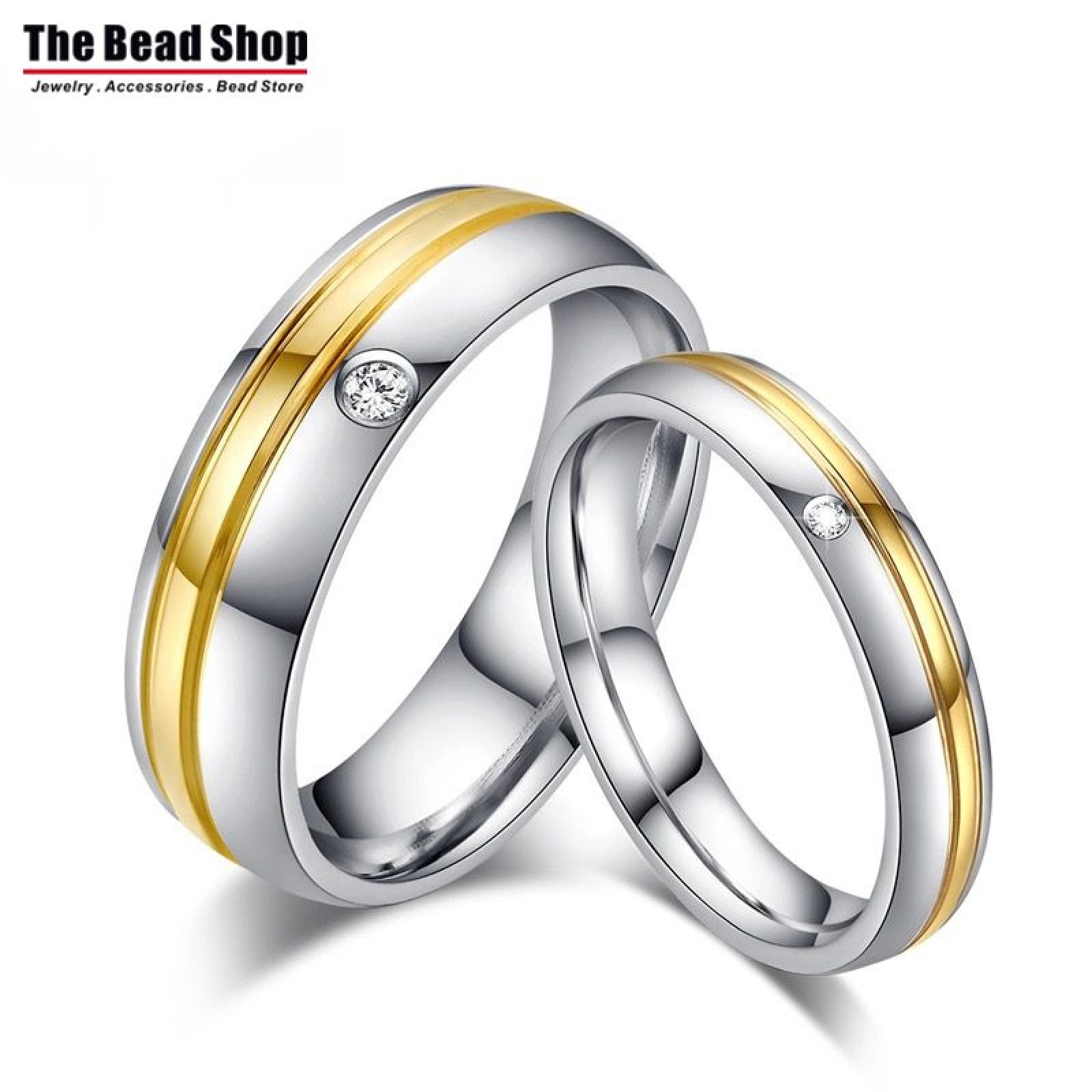 Couple Ring (CPRS-76) - thebeadshop.com.my