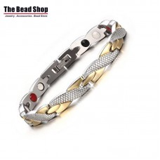 Women's Twisted Design Magnetic Health Care Bracelets