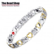 Women's Full of Love Design Magnetic Health Care Bracelets