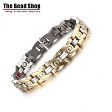 Men's Cross C Design Magnetic Health Care Bracelets