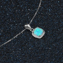 Opal 925 Silver Sterling Necklaces (OJN101930)