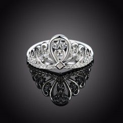 925 Silver Sterling Ring - Crown (NSSR24)