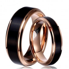 Couple Tungsten Ring